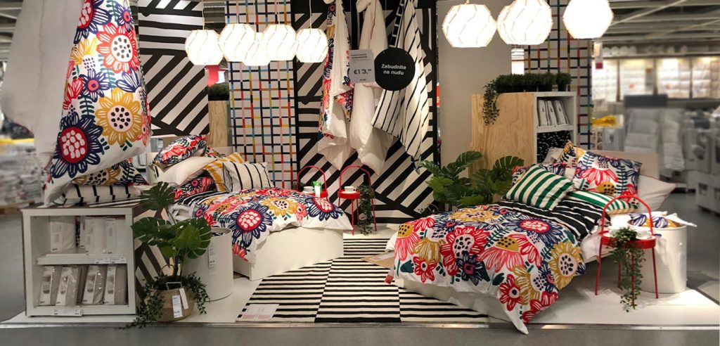 Ikea designs activity areas to slow down its customers