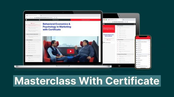 Complete masterclass BE & Psy in marketing