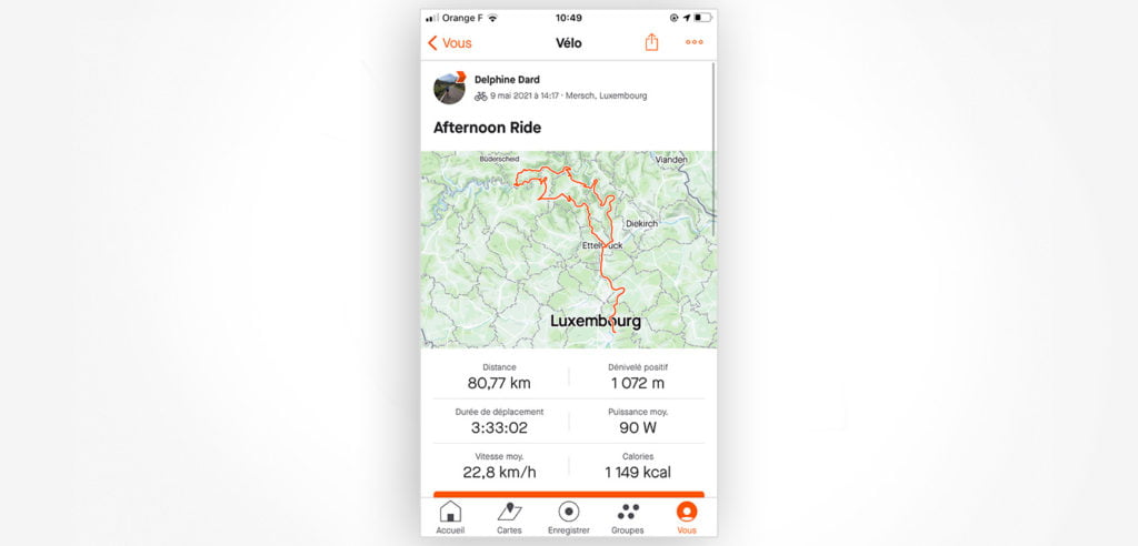 Strava users capture memories and experiences in the app, making them even more connected to the historical data.