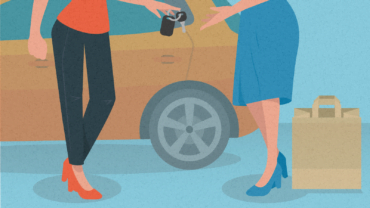 A clever behavioral intervention to encourage more car sharing